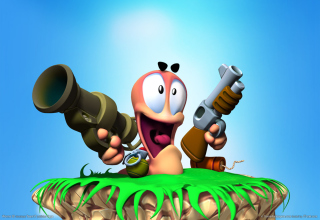 Обои Worms Games на андроид