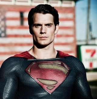 Henry Cavill In Man Of Steel Background for iPad Air