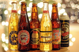 Beer Bottles Background for Android, iPhone and iPad
