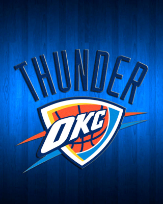 Free Oklahoma City Thunder Picture for 320x480