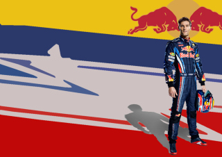 Red Bull Racing Wallpaper for Samsung I9080 Galaxy Grand