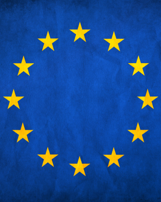 Free EU European Union Flag Picture for Nokia Asha 305