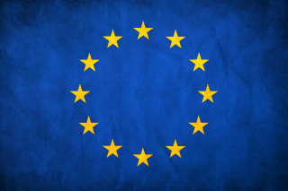 EU European Union Flag Background for Desktop 1280x720 HDTV