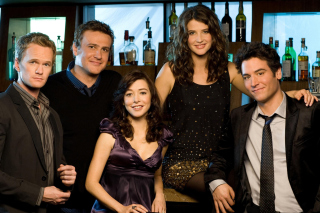 How I Met Your Mother in Bar Wallpaper for Android, iPhone and iPad