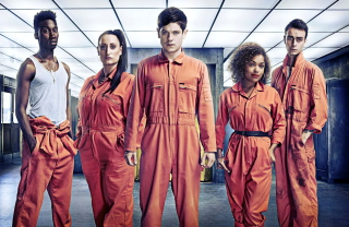 Misfits - Joe Gilgun and Lauren Socha sfondi gratuiti per cellulari Android, iPhone, iPad e desktop