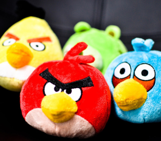 Обои Angry Birds Plush Toy для телефона и на рабочий стол iPad mini 2
