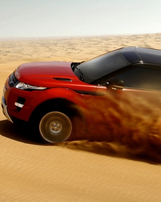 Range Rover Evoque Dubai Wallpaper for iPhone 3G