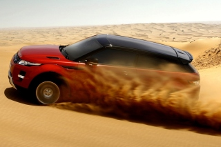 Range Rover Evoque Dubai Background for Android 480x800
