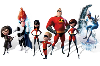 The Incredibles sfondi gratuiti per Samsung Galaxy S4
