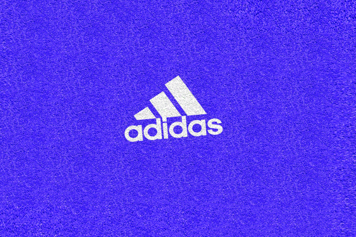 Adidas Blue Logo wallpaper