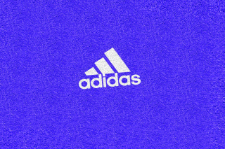 Free Adidas Blue Logo Picture for Android, iPhone and iPad