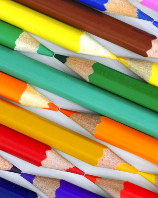 Free Colored Pencils Picture for Nokia Lumia 1020