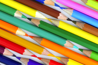 Colored Pencils Background for LG Optimus U