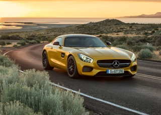 Mercedes AMG GT Picture for Android, iPhone and iPad