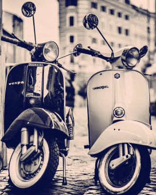 Vespa Scooter sfondi gratuiti per iPhone 4S