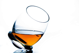 Cognac Glass Snifter Wallpaper for Android, iPhone and iPad