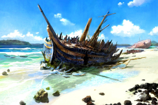 Free Shipwreck Picture for Android, iPhone and iPad