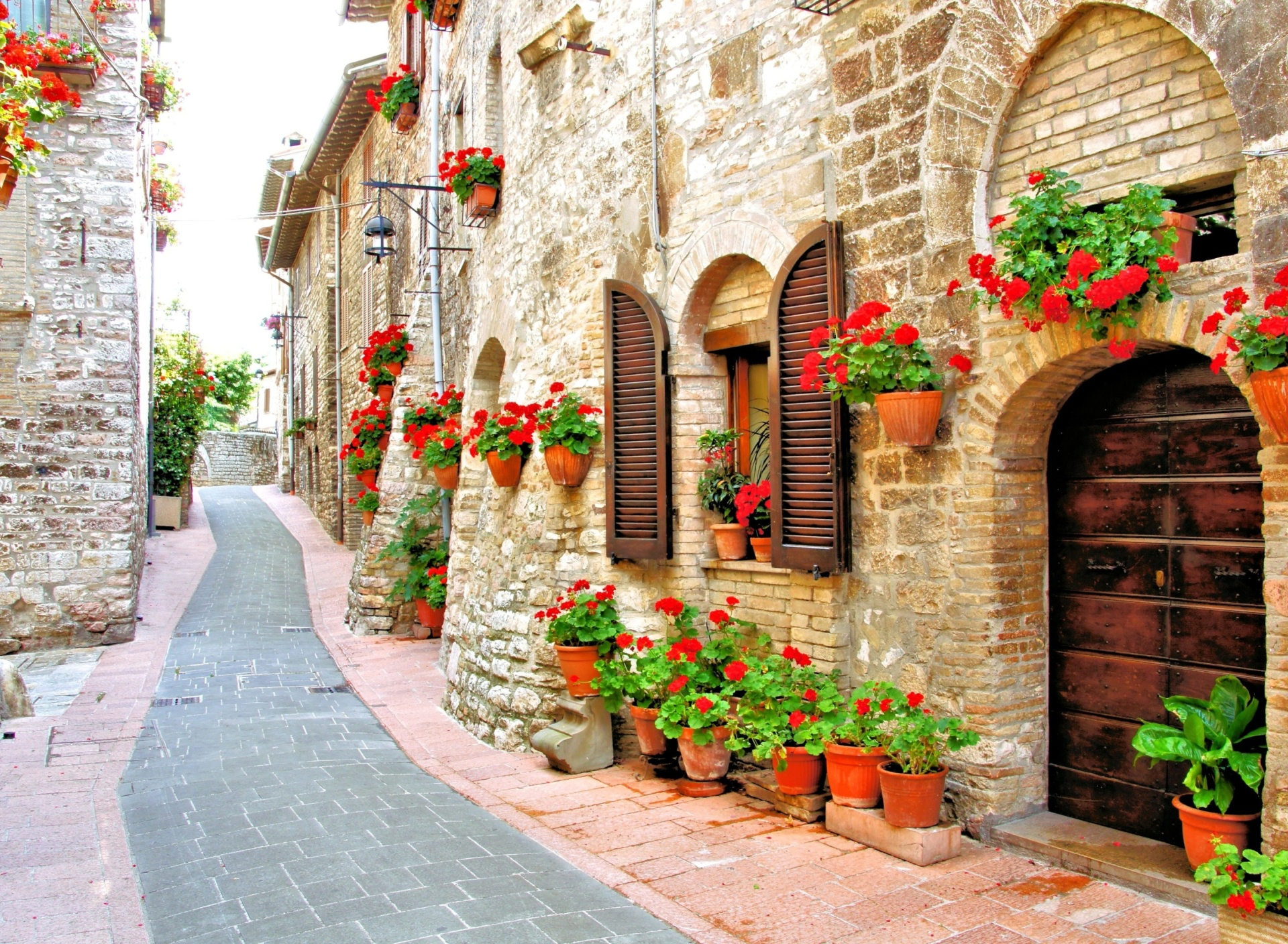 Screenshot №1 pro téma Italian Streets on Garda 1920x1408