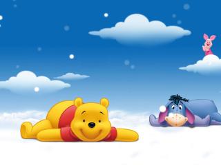 Winnie The Pooh para Nokia Asha 201
