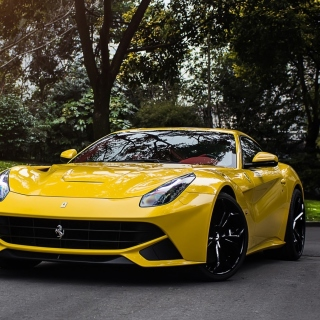 Ferrari F12 Berlinetta Wallpaper for iPad mini