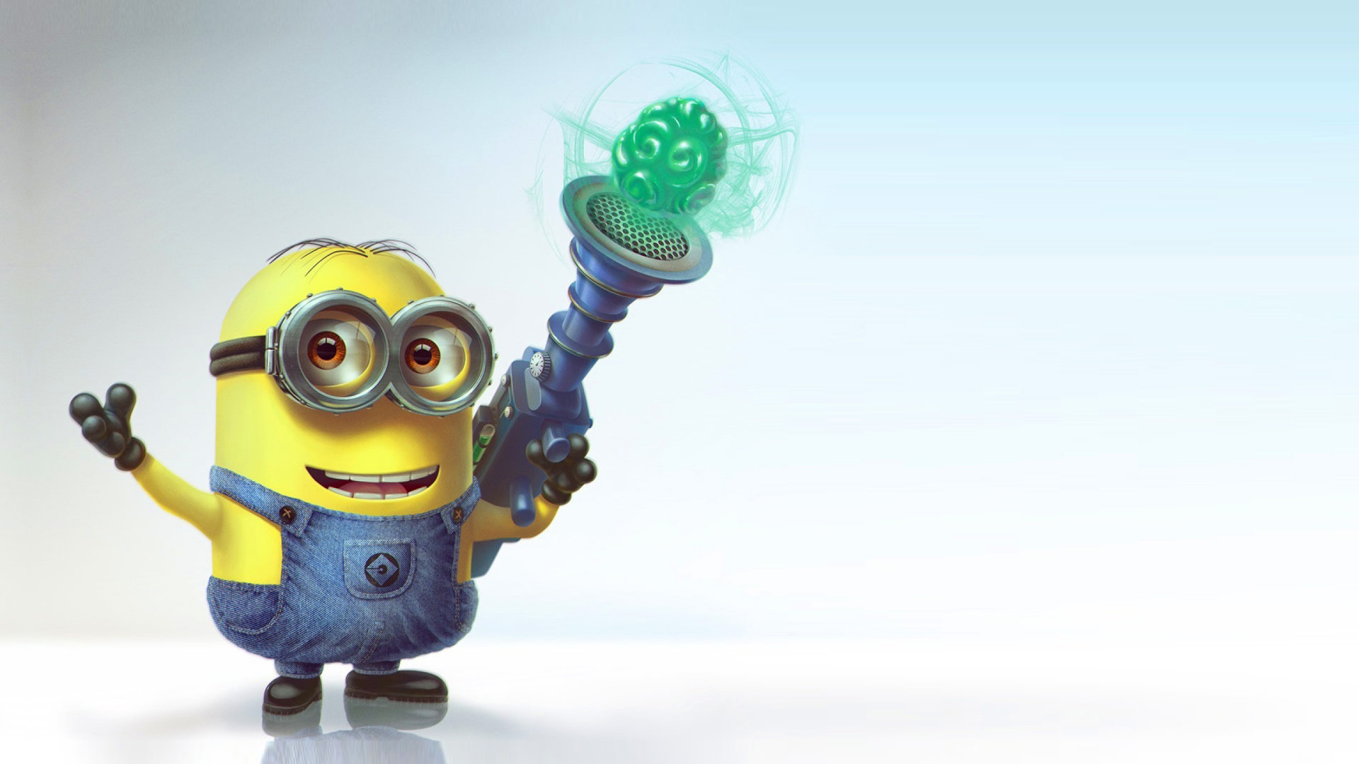 Screenshot №1 pro téma Minion with Laser 1920x1080