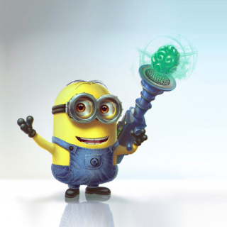 Minion with Laser sfondi gratuiti per iPad Air
