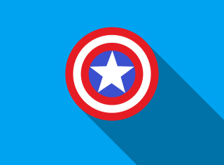 Captain America Background for Samsung Google Nexus S 4G