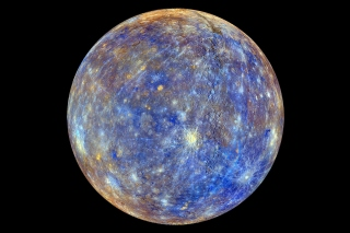 Mercury Planet Background for 480x400