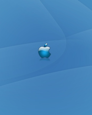 Apple Blue Logo Picture for HTC Titan