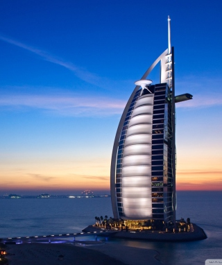 Tower Of Arabs In Dubai sfondi gratuiti per 768x1280