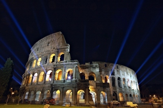 Rome Center, Colosseum Background for Android, iPhone and iPad