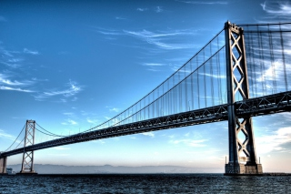 Bay Bridge Picture for Android, iPhone and iPad
