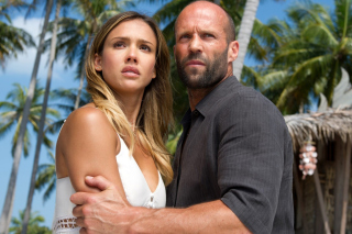 Mechanic Resurrection, Jason Statham, Mechanic 2, Jessica Alba - Obrázkek zdarma pro LG Optimus M