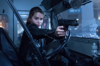 Free Sarah Connor in Terminator 2 Judgment Day Picture for HTC Wildfire