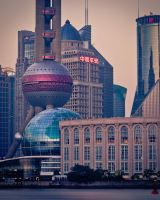 Shanghai Wallpaper for iPhone 5