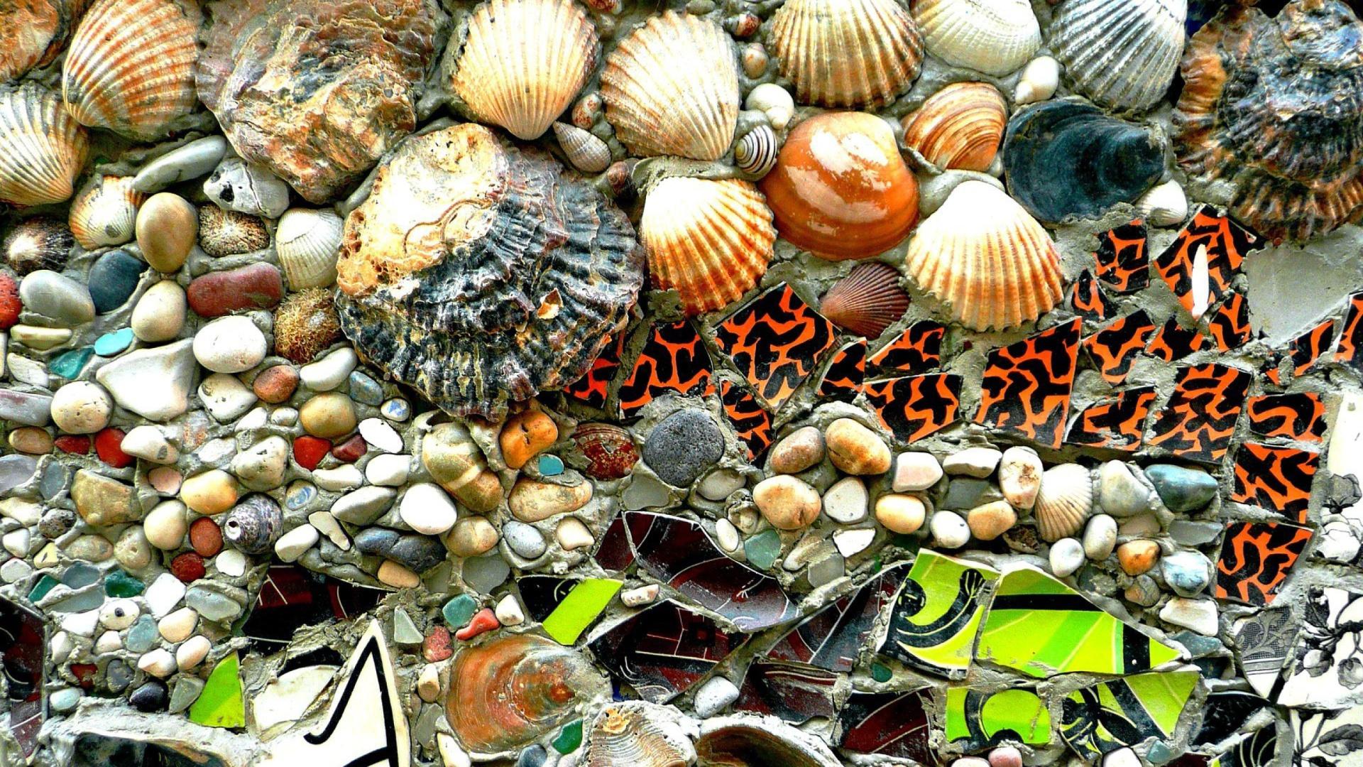 Ihot Wallons Download Ipad Wallpaper Beach Pebbles Autumn: Shells And Pebbles Sfondi Gratuiti Per Desktop 1920x1080