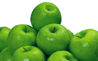 Free Green Apples Picture for Android, iPhone and iPad