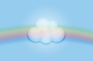 Cloud And Rainbow - Fondos de pantalla gratis