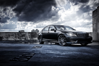 Mercedes-Benz S-Class Background for Android, iPhone and iPad