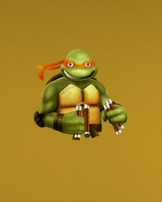 Ninja Turtle Background for iPhone 6 Plus