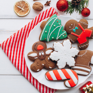 Homemade Christmas Cookies sfondi gratuiti per iPad mini