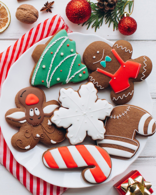 Homemade Christmas Cookies Wallpaper for Nokia C1-01