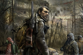 Call Of Pripyat Background for Android, iPhone and iPad
