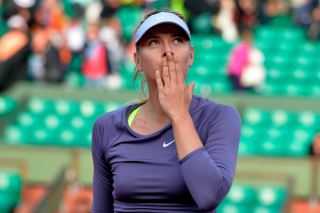 Maria Sharapova Background for 480x400