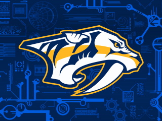 Screenshot №1 pro téma Nashville Predators Wallpaper 320x240