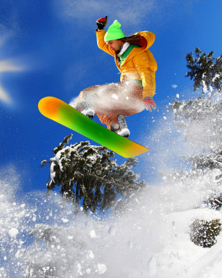 Free Extreme snow slope Picture for Nokia C-5 5MP