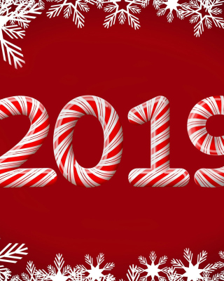 2019 New Year Red Style sfondi gratuiti per Nokia Lumia 925