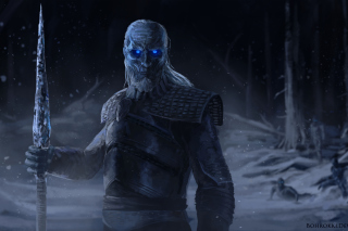 White Walkers papel de parede para celular para Widescreen Desktop PC 1600x900