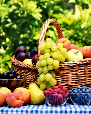 Organic Fruit Gift Basket Wallpaper for Nokia Lumia 925