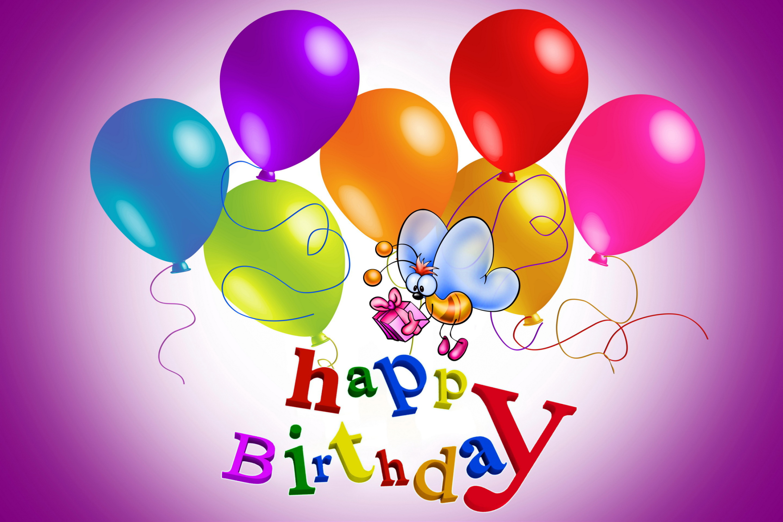 Фото, видео открытки с днем рождения на телефон для девочки